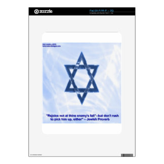 Star Of David Funny Jewish Proverb Gifts Cards Decal For iPad
