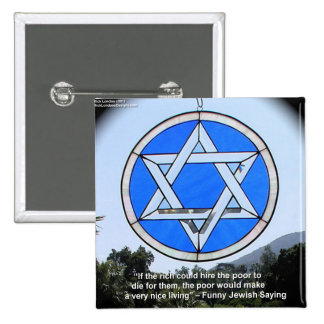Star Of David & Funny Jewish Quote Gifts & Cards Pin