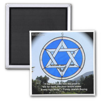 Star Of David & Funny Jewish Quote Gifts & Cards Magnet