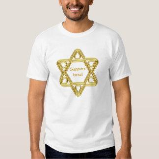 Star of David Gold T Shirt