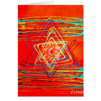 Star of David Greeting Card