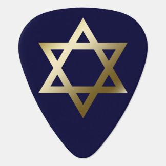 Star of David Guitar Pick