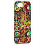 Star Of David Hamsa Vintage Tapastry iPhone 5 Cases
