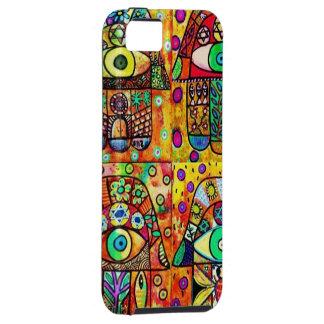 Star Of David Hamsa Vintage Tapastry iPhone SE/5/5s Case