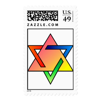 Star of David in ChromaFlux Stamps