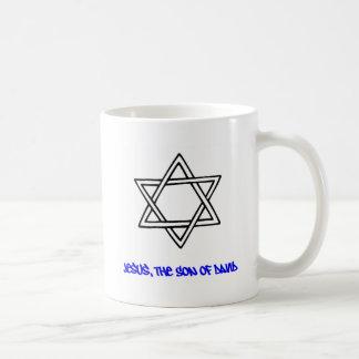 Star of David - Jesus, The Son of David Coffee Mug