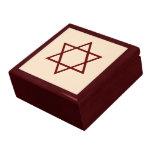 Star of David Jewelry Box