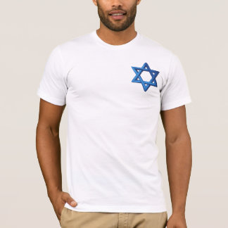 Star of David Jewish Israeli T-Shirt