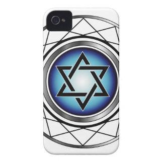 Star of David- Jewish religious symbol Case-Mate iPhone 4 Case