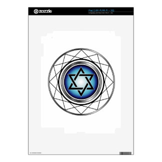 Star of David- Jewish religious symbol Decals For The iPad 2