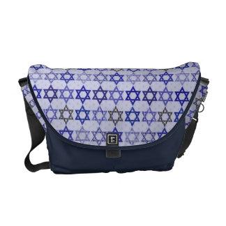 Star of David Jewish Star Messenger bag