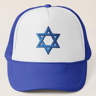 Star of David Jewish Trucker Hat