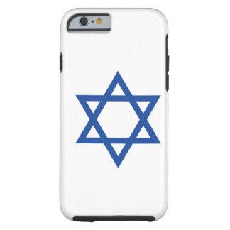 Star of David - Judaism Tough iPhone 6 Case