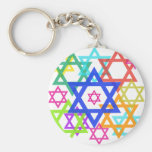 Star of David Key Chains