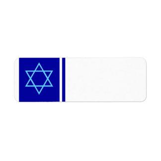 Star of David Label