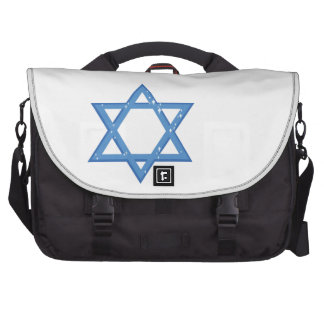 Star Of David Laptop Commuter Bag