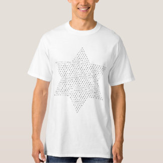 Star of David made with Hebrew Letters T-Shirt