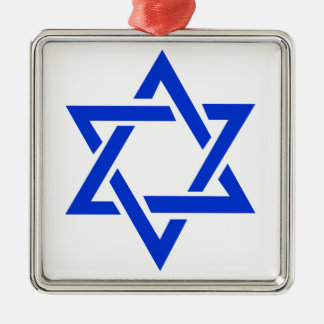 Star of David Metal Ornament