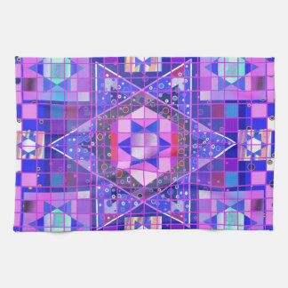 Star of David mosaic Towels