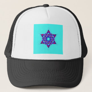 Star of David mosaic Trucker Hat