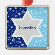 Star Of David Ornament at Zazzle