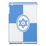 Star of David Personalized Monogram Cover For The iPad Mini