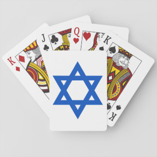 """""""STAR OF DAVID"""" PLAYING CARDS"""