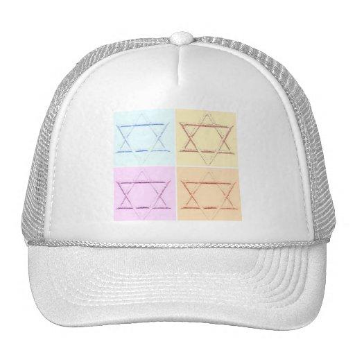Star of David pop art Trucker Hat