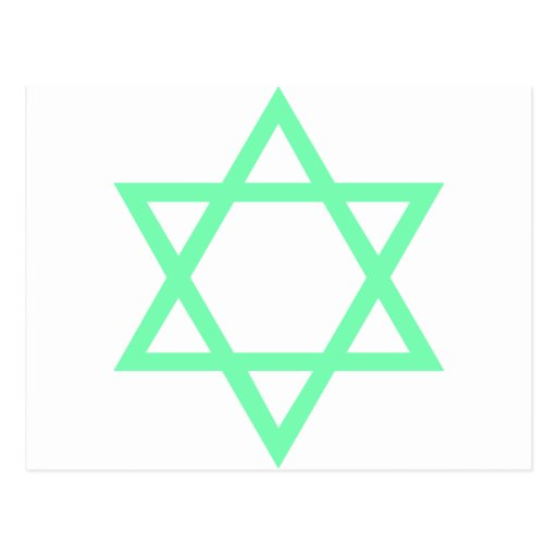 Star of David Post Cards