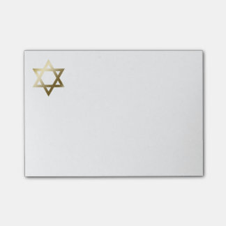 Star of David Post-it Notes