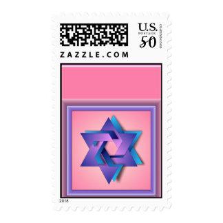 Star of David Postage