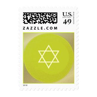 Star of David Postage, customize your text.