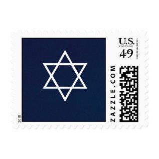 Star Of David Postage Stamp at Zazzle