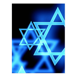 Star Of David Postcard
