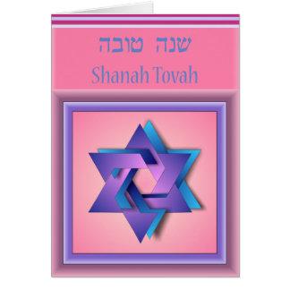 Star of David Rosh Hashanah Card