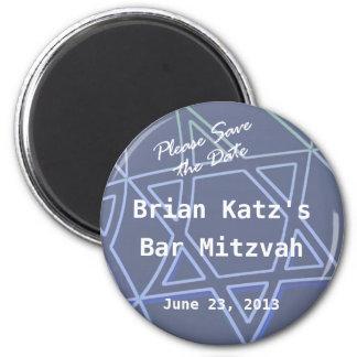 Star of David Round Magnet