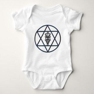 Star of David & Sefirah Baby Bodysuit