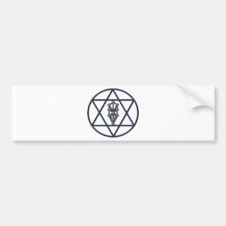 Star of David & Sefirah Bumper Sticker