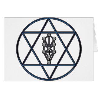 Star of David & Sefirah Card