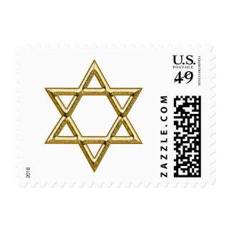 Star of David / Size S/M/L Postage Stamp