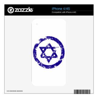 Star of David iPhone 4S Skins