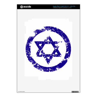 Star of David Skins For iPad 3