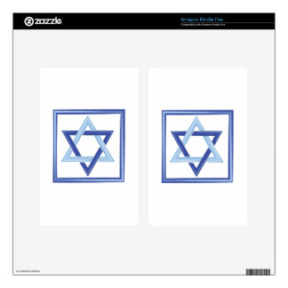 Star Of David Skins For Kindle Fire