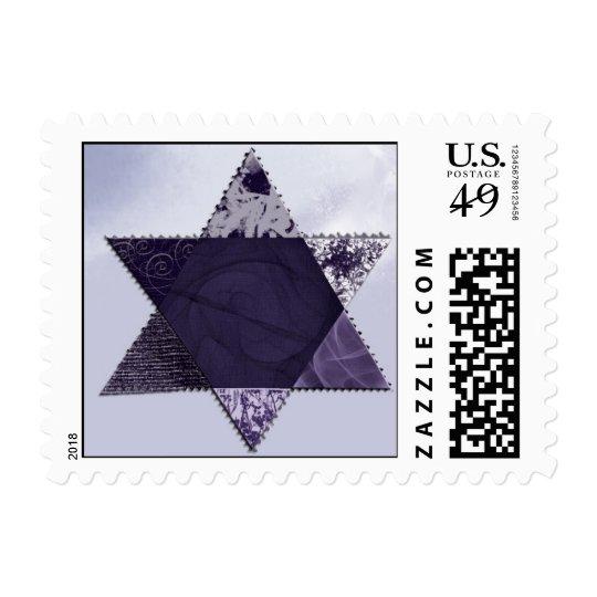 Star of David - Small Postage Stamp