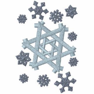 Star of David Snowflake