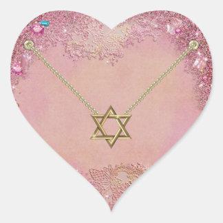 Star of David - SRF Heart Sticker