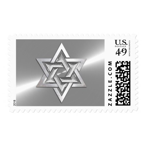 Star of David Stainless Steel Postage