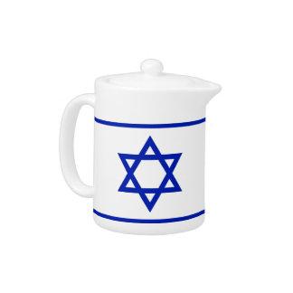 Star of David Teapot