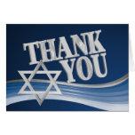 Star of David Thank You Card