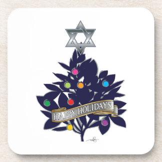 Star of David Tree Topper Coaster
